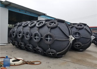 Aircraft Tyre High Pressure Pneumatic Marine Fender 80 KPA For Ship Protection
