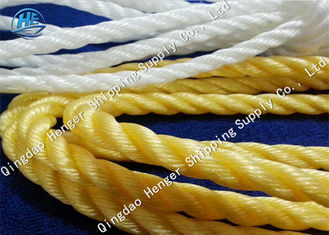 12 Strand Mooring Dockline Rope Colorful Polypropylene Mooring Lines Corrosion Resistance