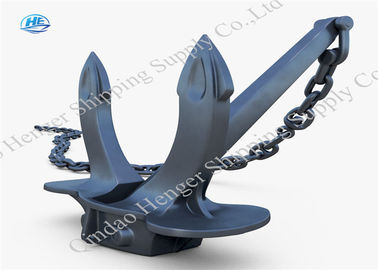 Stockless Large Ship Anchor / Hot Dipped Galvanized Heavy Duty Anchors